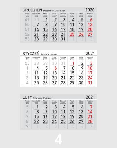 Kalendarium ekologicznego kalendarza trójdzielnego 4