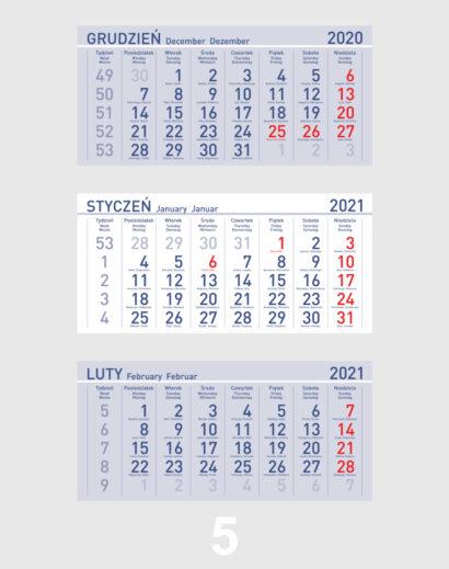 Kalendarium ekologicznego kalendarza trójdzielnego 5