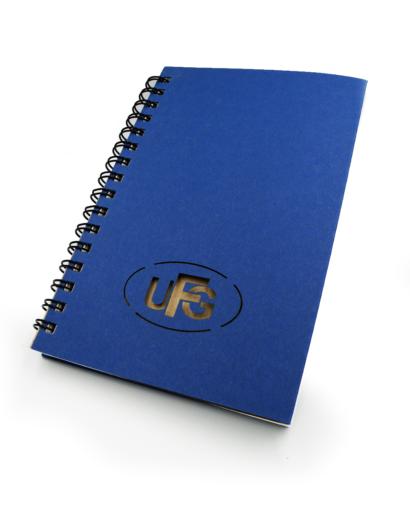 Notes Autorski ze Spiralą UFG Bokiem