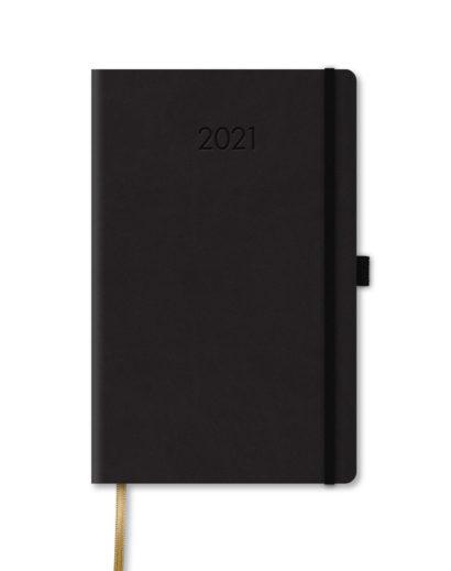 Kalendarz książkowy B5 czarny