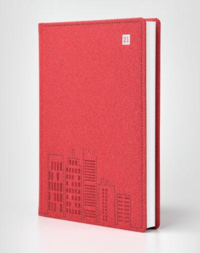 Autorski kalendarz książkowy Kraft