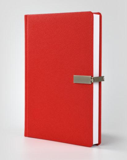 Indywidualny kalendarz książkowy czerwony Cross