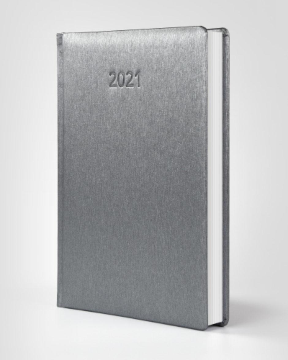 Aluminiowa okładka kalendarza książkowego