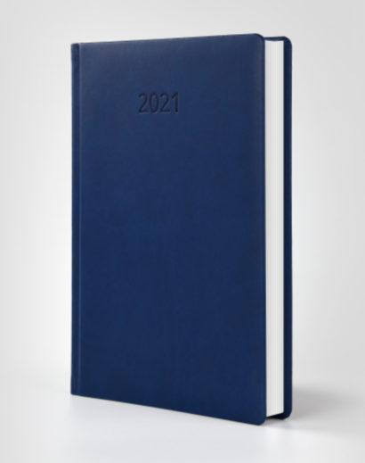Kalendarz książkowy autorski Vivella granatowy