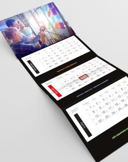 Klasyczny kalendarz trójdzielny