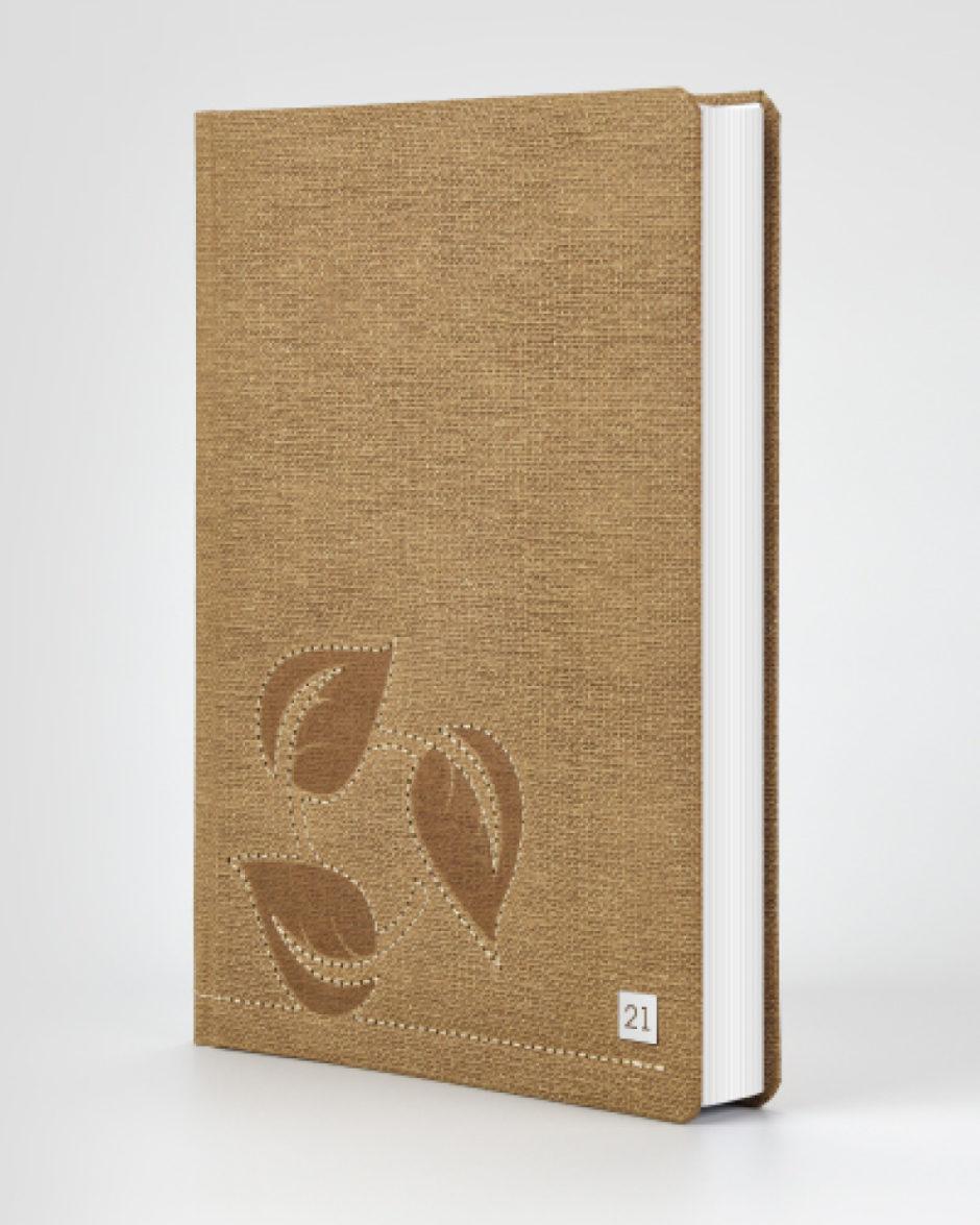 Indywidualny kalendarz książkowy ekologiczny
