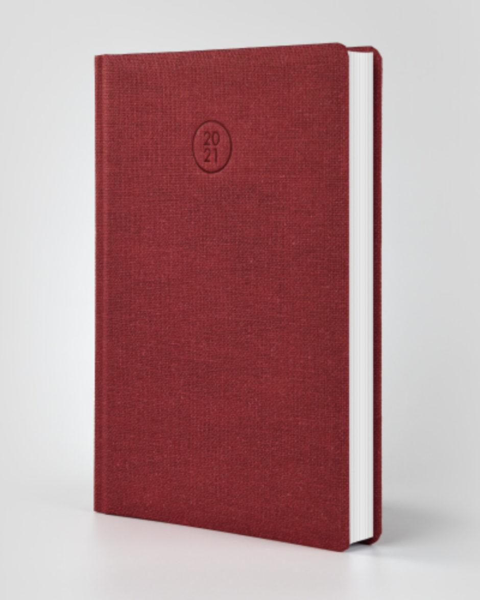 Ekologiczny kalendarz książkowy Savana Bordo