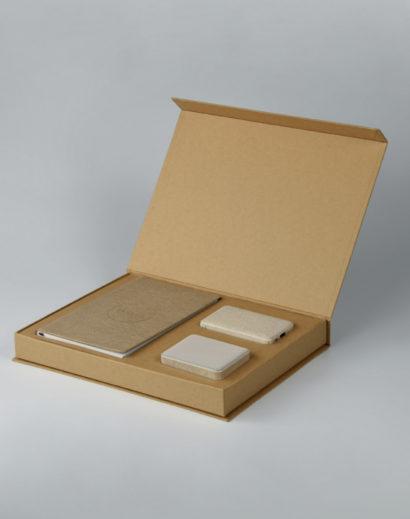 Pakiet prezentowy ekologiczny z kalendarzem