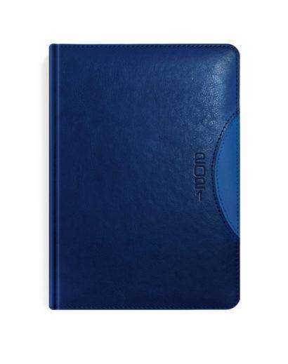 Ciemnoniebieski kalendarz książkowy A5
