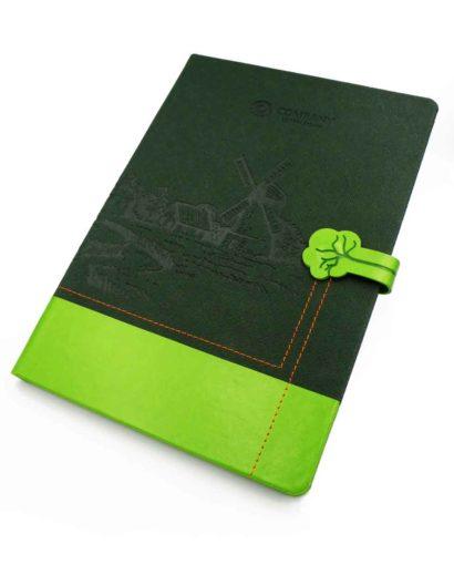 Szycie kreatywne kalendarz zielony