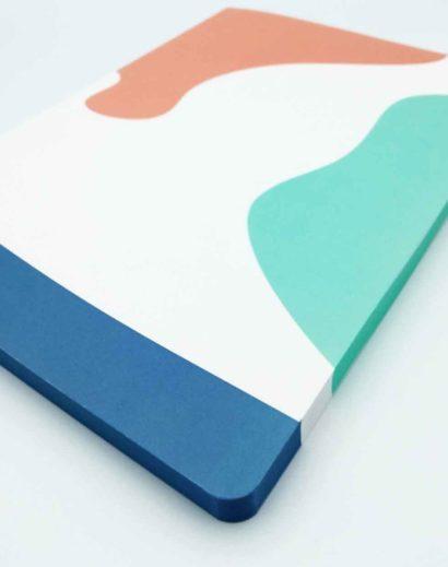Kolorowy nadruk na notesie