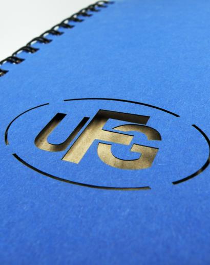 Notes Autorski ze Spiralą UFG Wycięcie