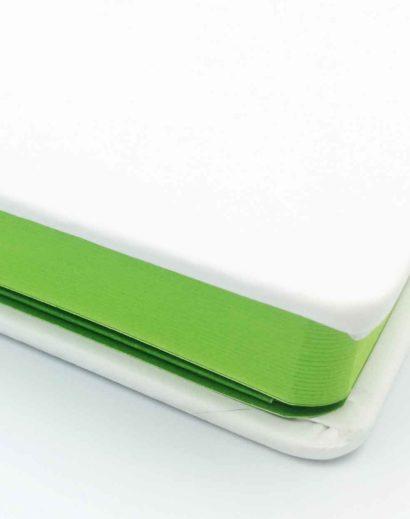 Zielone brzegi notesu