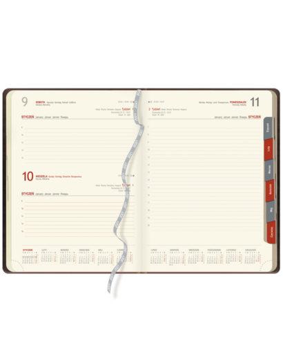 Kalendarium dzienne A4