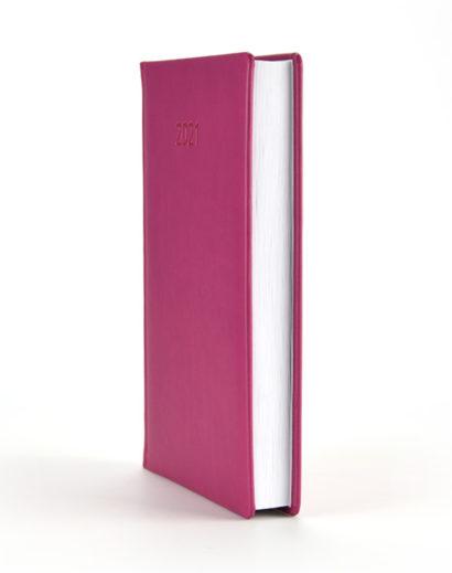 Kalendarz książkowy autorski Vivella fioletowy