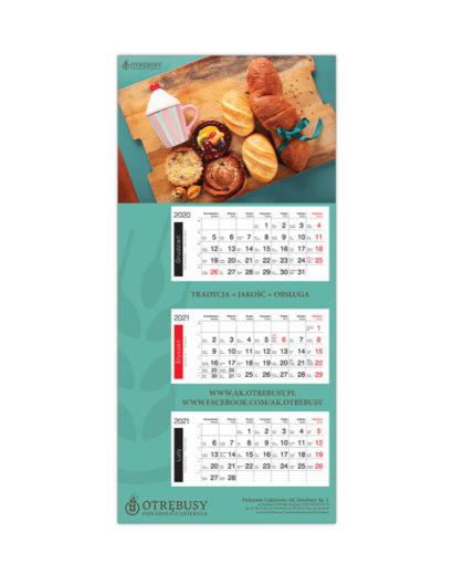 Kalendarz Trójdzielny Otrębusy
