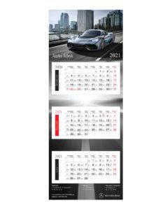 Kalendarz Trójdzielny Mercedes-Benz