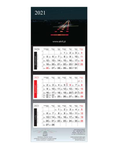 Kalendarz Trójdzielny Elvit
